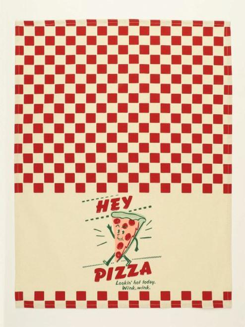Hey Pizza Lookin Hot Today Dish Cloth