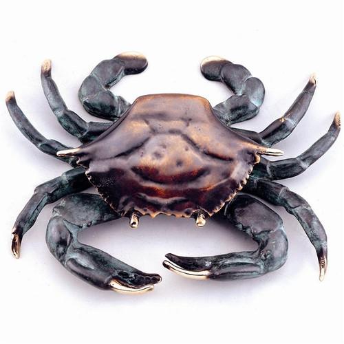 Brass Crab Dorrknocker