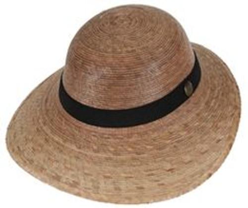 Laurel Black Band Hat
