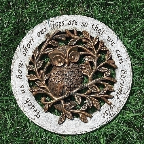 Owl Stepping Stone