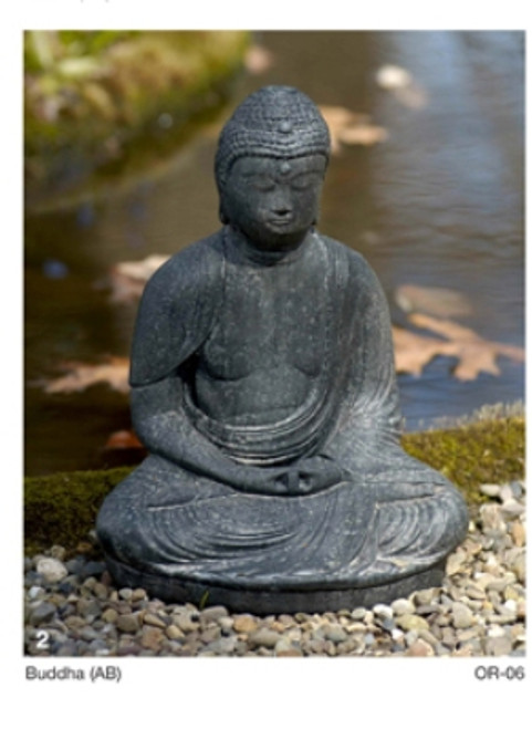 Buddha Cast Stone Statue