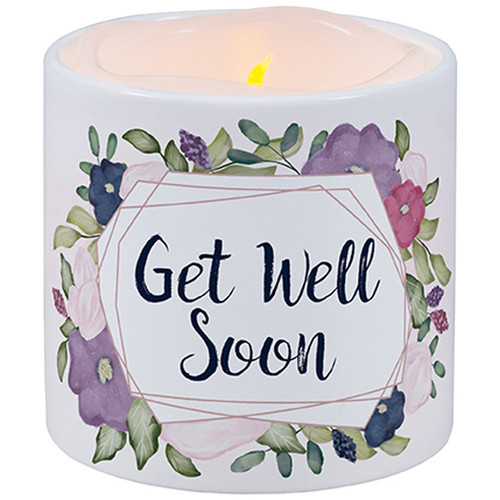 Get Well soon LED Candle