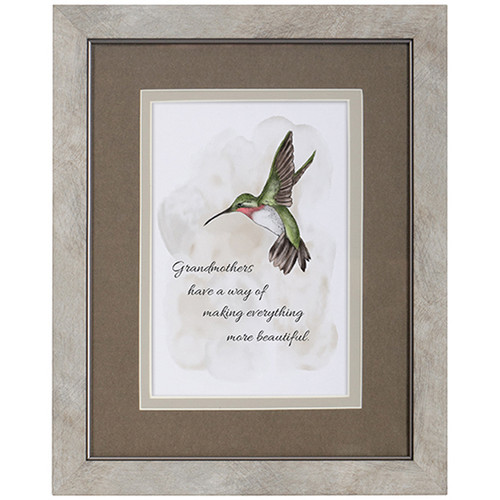 Framed Grandmother Blessing Picture