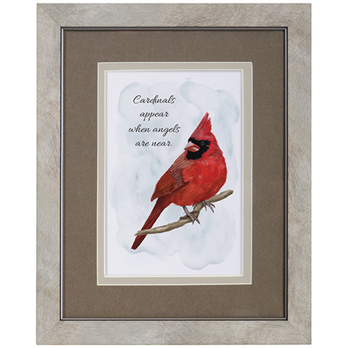 Cardinals Appear Framed Picture