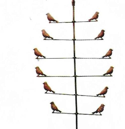 Bird Vane Wind Spinner
