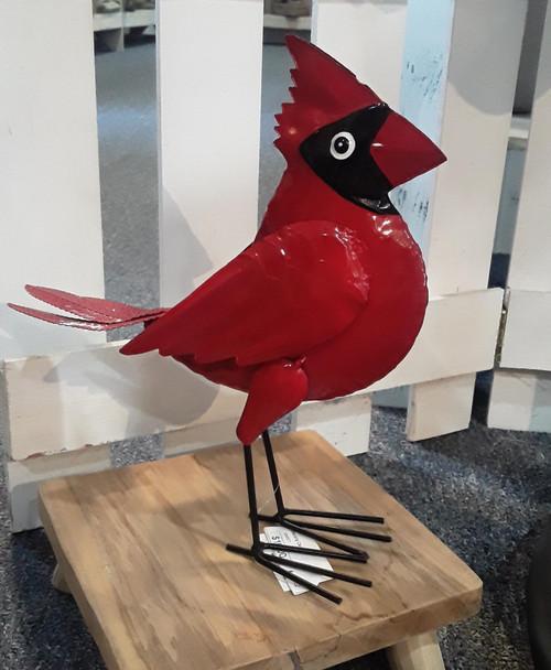 Standing Cardinal Figure