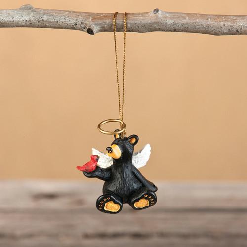 Angel Sitting Bear Ornament