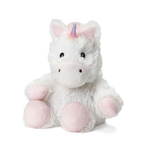 White Unicorn Junior Warmies®