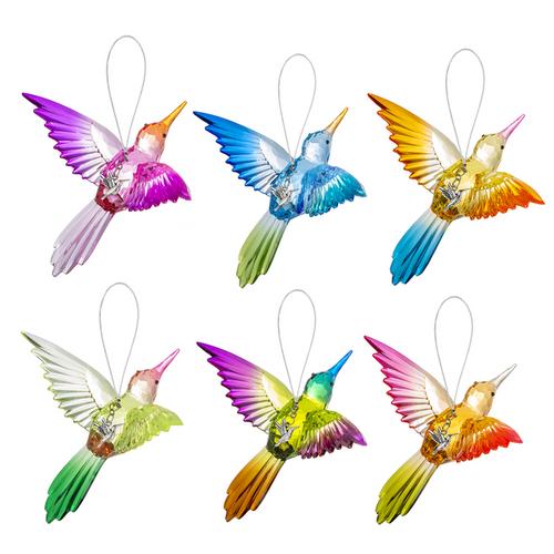 Radiant Hummingbird Ornament