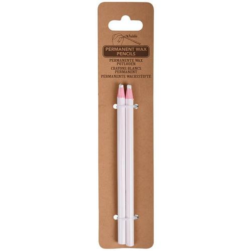 Permanent Wax Pencils Set Of 2