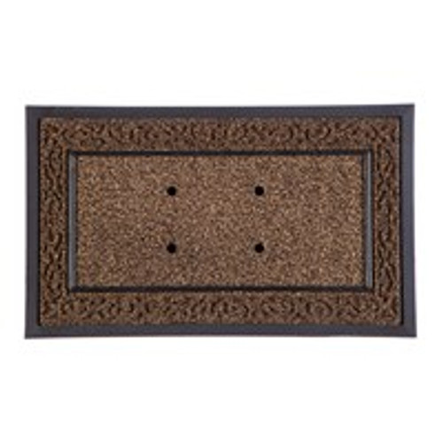Brown Scroll Switch Mat Tray