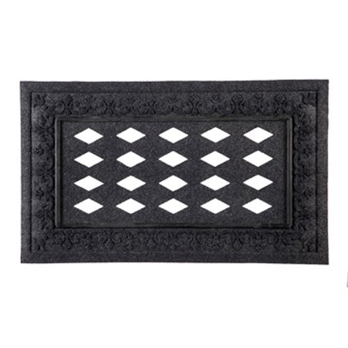 Embossed Fleur Switch Mat Tray