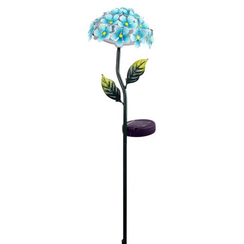 Solar Flower Stake Blue