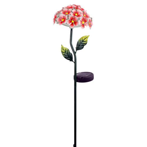 Solar Flower Stake Pink