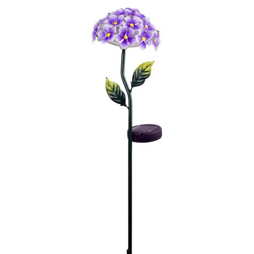 Solar Flower Stake Purple