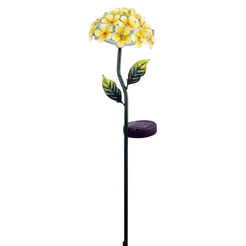 Solar Flower Stake Yellow