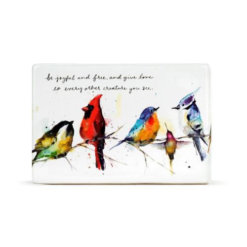 Little Birds Plaque