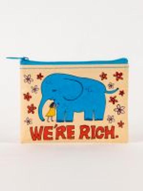 We're Rich Coin Purse
