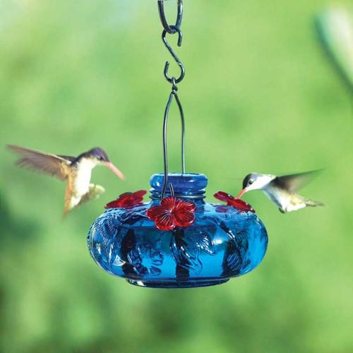 Bloom Calliope Hummingbird Feeder Blue