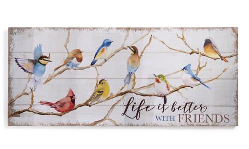 Birds Wall Plaque