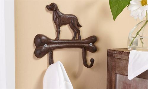 Dog Bone Design Wall Hook