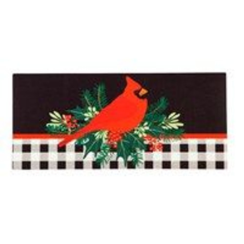 Merry Christmas Cardinal Switch Mat