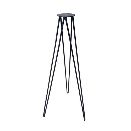 Hairpin Wrought Iron  sundial Stand