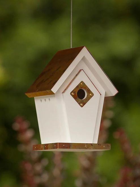 Finch Wren Hanging Bird House