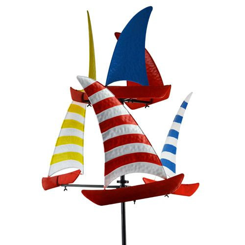 Sailboat Wind Spinner