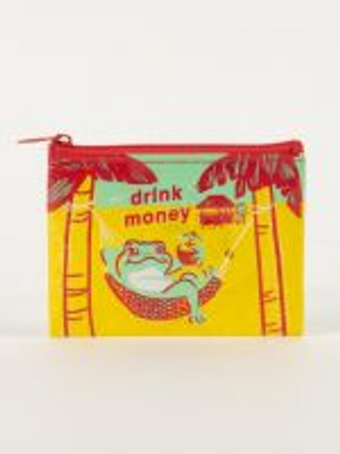 Drink Money Coin Purse