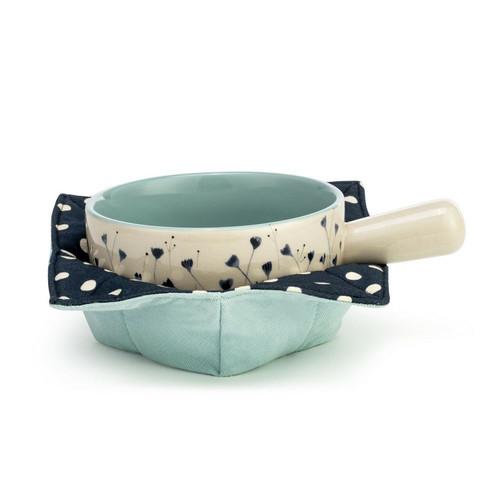 Soup Crock & Bowl Cozy - Blue B