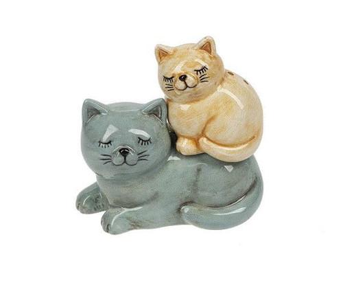 Cats Stacking Salt & Pepper