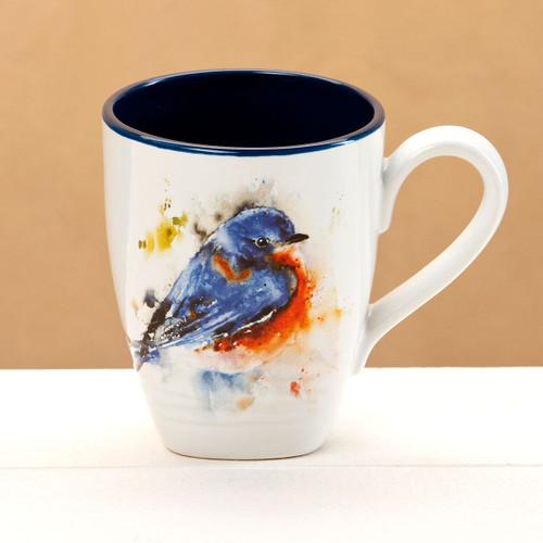 Dean Crouser Bluebird Mug