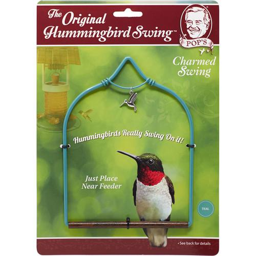 Hummingbird swing Teal