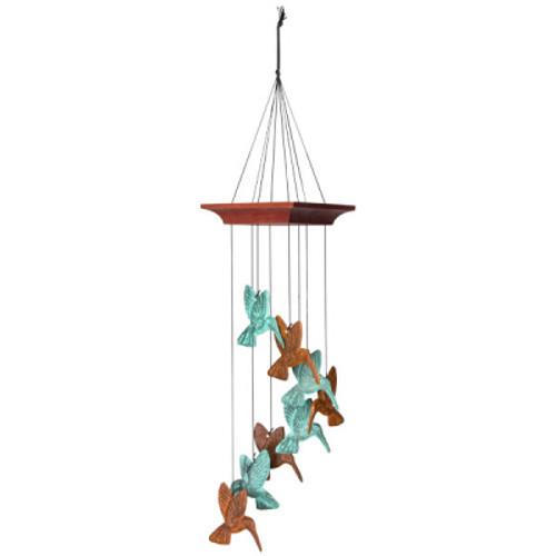 Hummingbird Spiral Terra Celestrial Chime