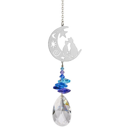 Cat Crystal Fantasy Suncatcher