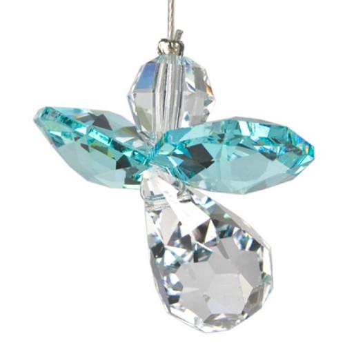 Crystal Suncatcher Guarden Angel December