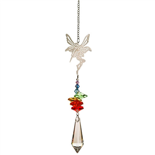 Crystal Fantasy Rainbow Suncatcher Fairy