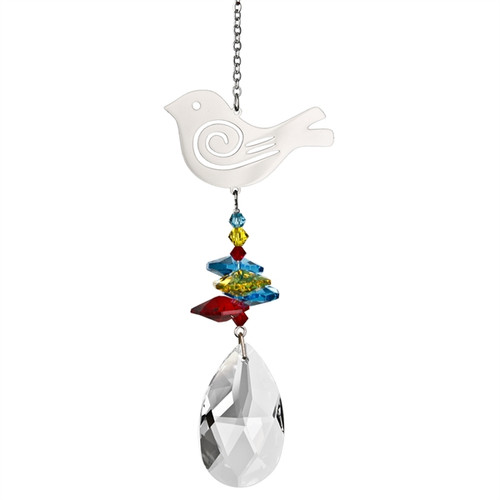 Crystal Fantsy Suncatcher Bird