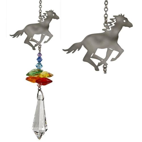 Crystal Fantasy Horse Suncatcher