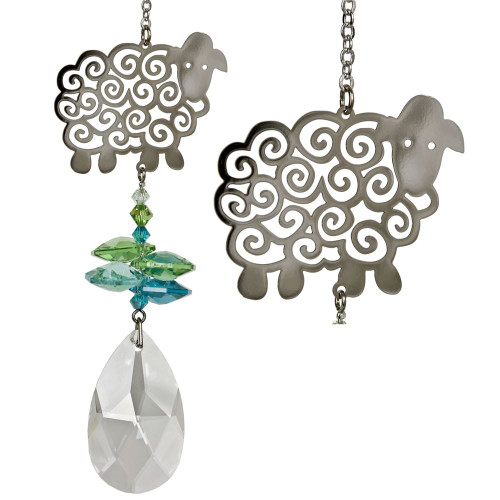 Crystal Fantasy Sheep Suncatcher
