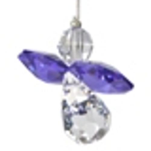 Crystal Suncatcher Guardian Angel February