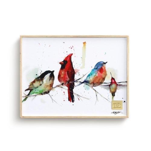 Dean Crouser Little Birds Wall Art