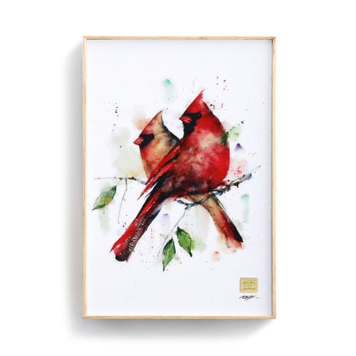 Dean Crouser Cardinal Pair Wall Art