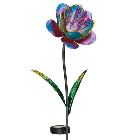 Solar Mystic Flower Stake Purple