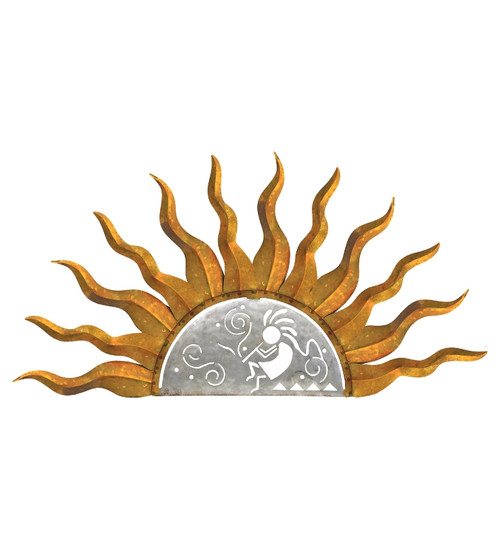 Kokopelli Sun Wall Decor