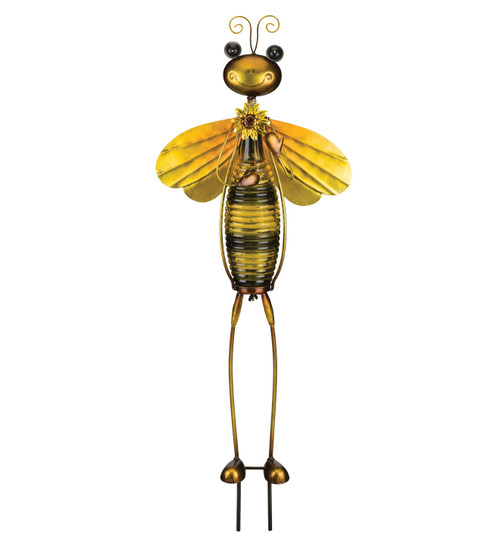 Bottle Bug Solar Stake Bee