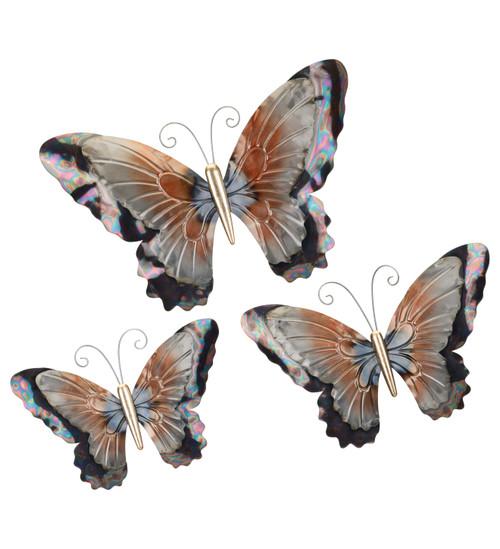 Metallic Butterfly Decor Medium