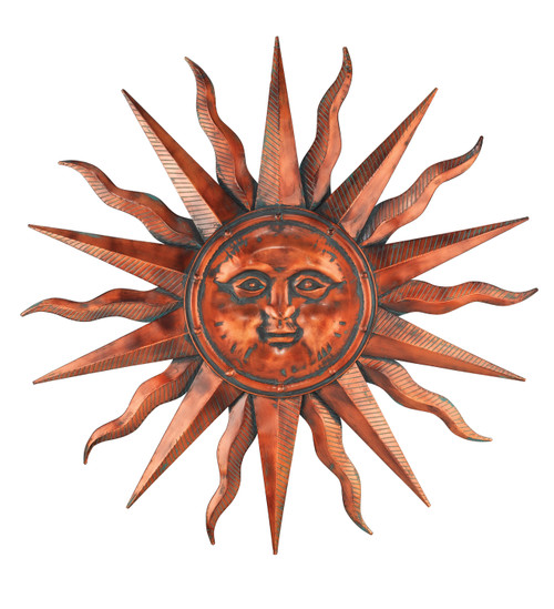 Copper Patina Sun 40""