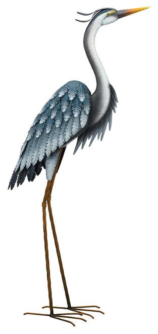 Blue Heron Heads Up